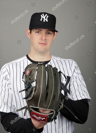 This is a 2019 photo of Jordan Montgomery of the New York Yankees baseball team. This image reflects the 2019 active roster as of, when this image was taken in Tampa, Fla