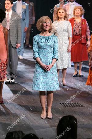 Joanna Riding (Sally Durant Plummer) during the curtain call
