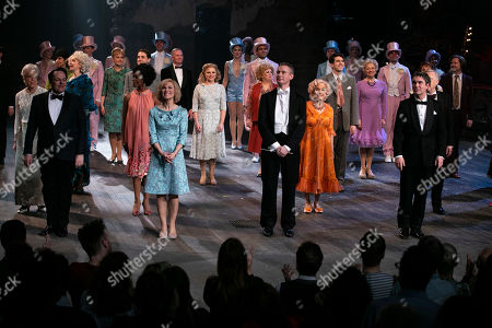 Editorial photo of 'Follies' curtain, Press Night, London, UK - 22 Feb 2019