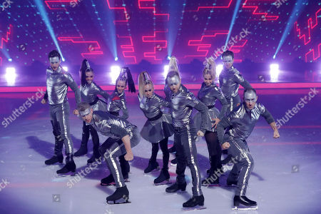 Editorial picture of 'Dancing on Ice' TV show, Series 11, Episode 8, Hertfordshire, UK - 24 Feb 2019