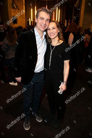 Alexander Hanson (Ben Stone) and Joanna Riding (Sally Durant Plummer)