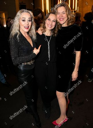 Stock Image of Tracie Bennett (Carlotta Campion), Joanna Riding (Sally Durant Plummer) and Janie Dee (Phyllis Rogers Stone)