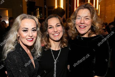 Editorial image of 'Follies' party, Press Night, London, UK - 22 Feb 2019