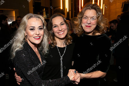 Stock Photo of Tracie Bennett (Carlotta Campion), Joanna Riding (Sally Durant Plummer) and Janie Dee (Phyllis Rogers Stone)