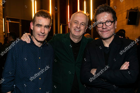 Rufus Norris (Srtistic Director), Dominic Cooke (Director) and Alexi Kaye Campbell