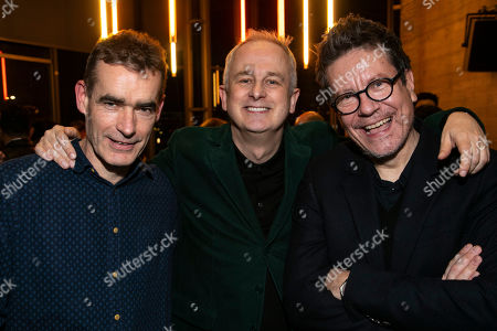 Stock Picture of Rufus Norris (Srtistic Director), Dominic Cooke (Director) and Alexi Kaye Campbell