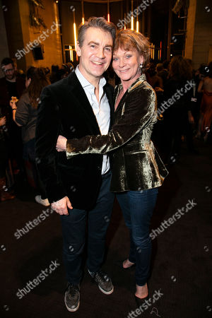Editorial picture of 'Follies' party, Press Night, London, UK - 22 Feb 2019