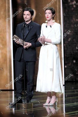 Raphael Personnaz and Sara Giraudeau