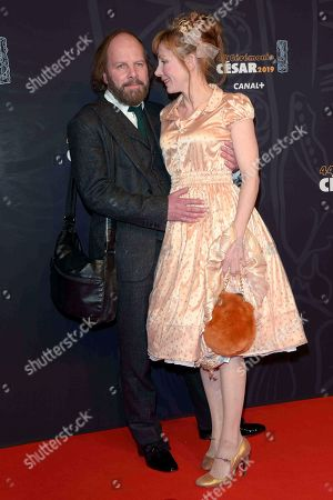 Editorial picture of 44th Cesar Film Awards, Arrivals, Paris, France - 22 Feb 2019