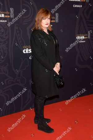 Editorial image of 44th Cesar Film Awards, Arrivals, Paris, France - 22 Feb 2019