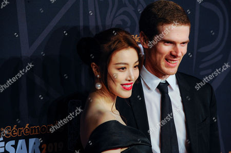 Stock Photo of Ge Tian and guest