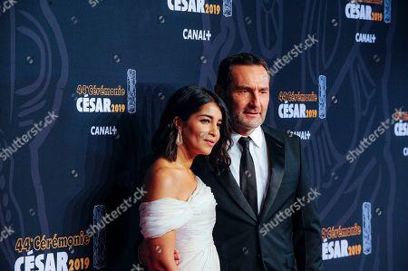 Leila Behkti and Philippe Lellouche