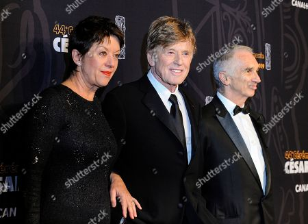 Robert Redford and Alain Terzian