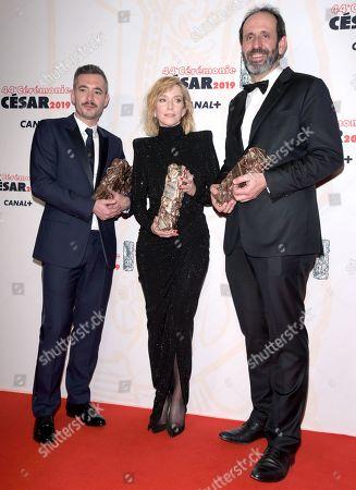 Lea Drucker winner of the award for Best Actress for Jusqu'a la garde