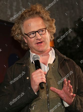 Florian Henckel Von Donnersmarck speaks at the 91st Academy Awards Foreign Language Nominees Reception at the Los Angeles County Museum of Art, in Los Angeles