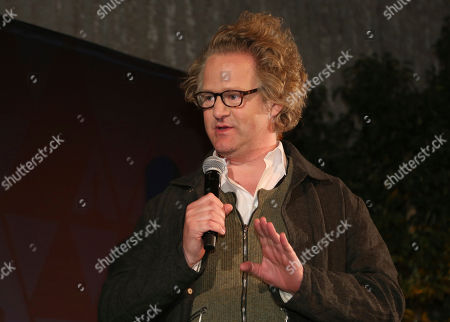 Florian Henckel Von Donnersmarck speaks at the 91st Academy Awards Foreign Language Nominees Reception at the LACMA, in Los Angeles