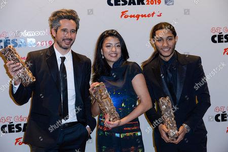 Editorial photo of 44th Cesar Film Awards, Press Room, Paris, France - 22 Feb 2019