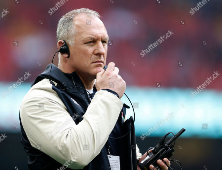 Stock Photo of Richard Hill the England Team manager