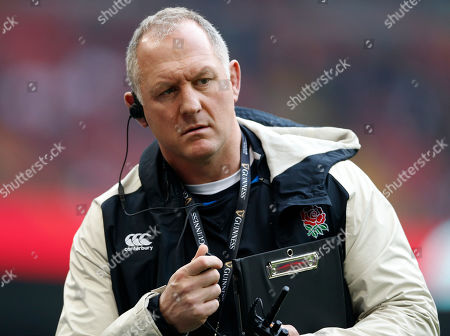 Stock Image of Richard Hill the England team manager