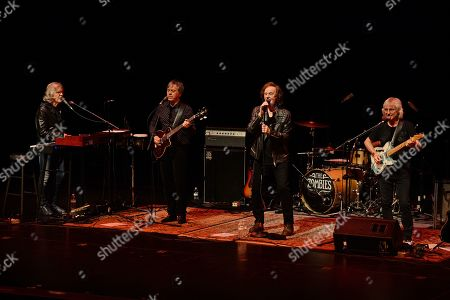 Editorial photo of The Zombies in concert at Broward Center, Fort Lauderdale, USA - 22 Feb 2019