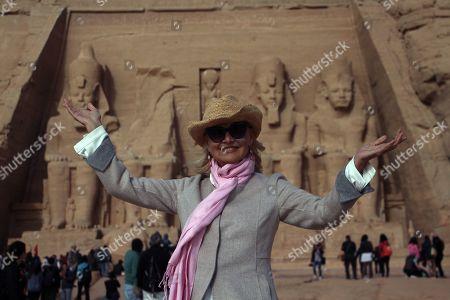 Editorial photo of 3rd Aswan Intl. Women Film Festival, Abu Simbel, Egypt - 23 Feb 2019