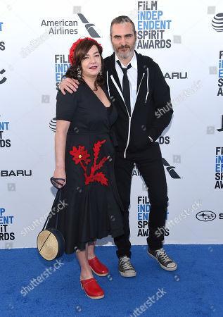 Lynne Ramsay and Joaquin Phoenix