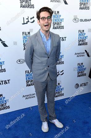 Stock Image of Jim Cummings arrives at the 34th Film Independent Spirit Awards, in Santa Monica, Calif