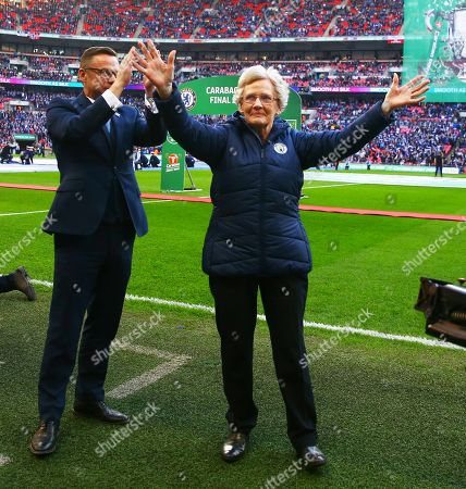 Editorial photo of Chelsea v Manchester City, Carabao Cup Final, Football, Wembley Stadium, London, UK - 24 Feb 2019