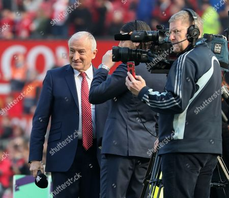 Jim  Rosenthal lead presenter of matchday coverage on Manchester United's in-house channel MUTV.