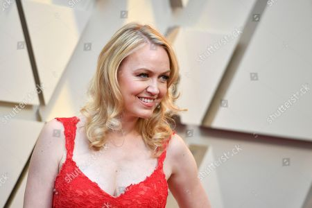 Lynette Howell Taylor arrives at the Oscars, at the Dolby Theatre in Los Angeles