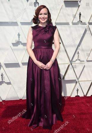 Alicia Malone arrives at the Oscars, at the Dolby Theatre in Los Angeles