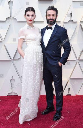 Rodrigo Sorogoyen, Marta Nieto. Marta Nieto, left, and Rodrigo Sorogoyen arrive at the Oscars, at the Dolby Theatre in Los Angeles