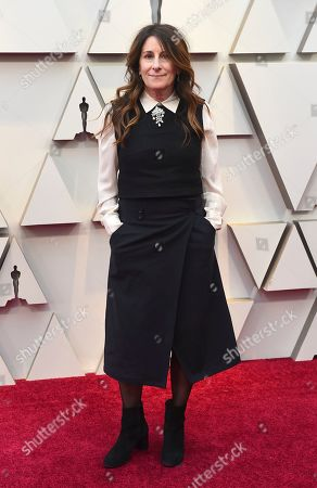Nicole Holofcener arrives at the Oscars, at the Dolby Theatre in Los Angeles
