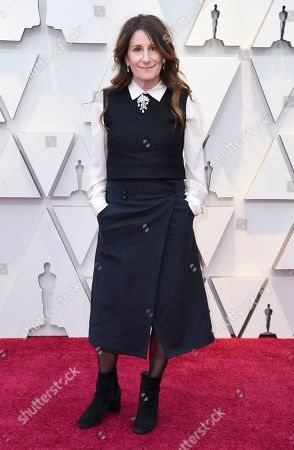 Stock Image of Nicole Holofcener arrives at the Oscars, at the Dolby Theatre in Los Angeles