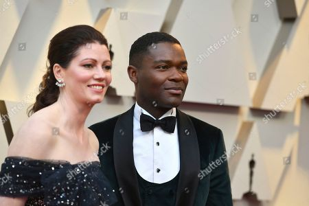Jessica Oyelowo, David Oyelowo. Jessica Oyelowo, left, and David Oyelowo arrive at the Oscars, at the Dolby Theatre in Los Angeles