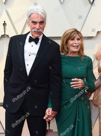 Sam Elliott, Katharine Ross. Sam Elliott, left, and Katharine Ross arrive at the Oscars, at the Dolby Theatre in Los Angeles
