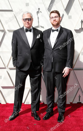Scott Wittman (R) arrives for the 91st annual Academy Awards ceremony at the Dolby Theatre in Hollywood, California, USA, 24 February 2019. The Oscars are presented for outstanding individual or collective efforts in 24 categories in filmmaking.
