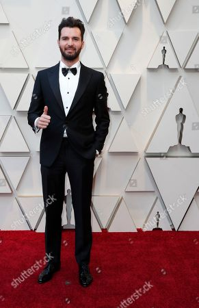 Andrea Iervolino arrives for the 91st annual Academy Awards ceremony at the Dolby Theatre in Hollywood, California, USA, 24 February 2019. The Oscars are presented for outstanding individual or collective efforts in 24 categories in filmmaking.