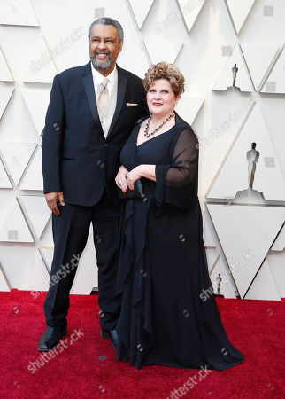Kevin Willmott (L) arrives for the 91st annual Academy Awards ceremony at the Dolby Theatre in Hollywood, California, USA, 24 February 2019. The Oscars are presented for outstanding individual or collective efforts in 24 categories in filmmaking.