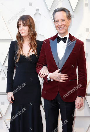 Olivia Grant (L) and Richard E Grant (R) arrive for the 91st annual Academy Awards ceremony at the Dolby Theatre in Hollywood, California, USA, 24 February 2019. The Oscars are presented for outstanding individual or collective efforts in 24 categories in filmmaking.