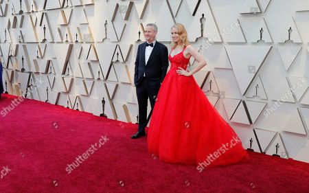 Lynette Howell Taylor (R) and Graham Taylor (L) arrive for the 91st annual Academy Awards ceremony at the Dolby Theatre in Hollywood, California, USA, 24 February 2019. The Oscars are presented for outstanding individual or collective efforts in 24 categories in filmmaking.