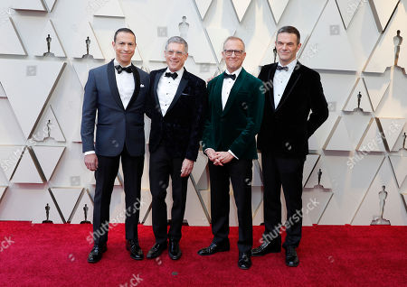 Rob Epstein and Jeffrey Friedman arrive for the 91st annual Academy Awards ceremony at the Dolby Theatre in Hollywood, California, USA, 24 February 2019. The Oscars are presented for outstanding individual or collective efforts in 24 categories in filmmaking.