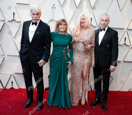 Sam Elliott (L) and Katherine Ross (2-L) arrive for the 91st annual Academy Awards ceremony at the Dolby Theatre in Hollywood, California, USA, 24 February 2019. The Oscars are presented for outstanding individual or collective efforts in 24 categories in filmmaking.