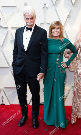 Sam Elliott (L) and Katharine Ross arrive for the 91st annual Academy Awards ceremony at the Dolby Theatre in Hollywood, California, USA, 24 February 2019. The Oscars are presented for outstanding individual or collective efforts in 24 categories in filmmaking.