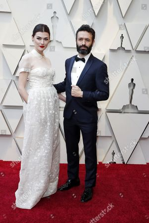 Rodrigo Sorogoyen (R) andf Marta Nieto arrive for the 91st annual Academy Awards ceremony at the Dolby Theatre in Hollywood, California, USA, 24 February 2019. The Oscars are presented for outstanding individual or collective efforts in 24 categories in filmmaking.