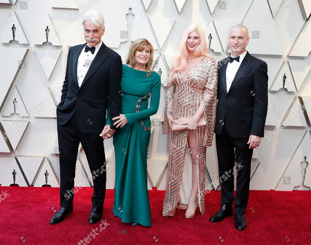 Sam Elliott (L) and Katharine Ross (2L) arrive for the 91st annual Academy Awards ceremony at the Dolby Theatre in Hollywood, California, USA, 24 February 2019. The Oscars are presented for outstanding individual or collective efforts in 24 categories in filmmaking.