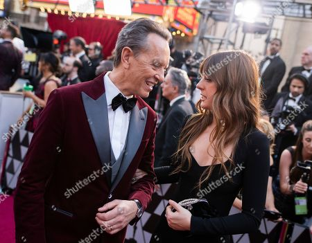 Richard E. Grant, Olivia Grant. Richard E. Grant and Olivia Grant arrive at the Oscars, at the Dolby Theatre in Los Angeles