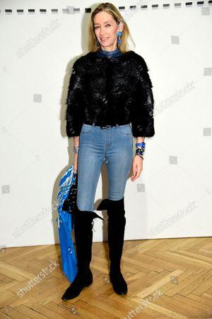 Editorial photo of Simonetta Ravizza show, Front Row, Fall Winter 2019, Milan Fashion Week, Italy - 23 Feb 2019
