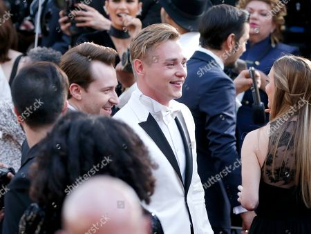 Joseph Mazzello, Ben Hardy. Joseph Mazzello, left, and Ben Hardy arrive at the Oscars, at the Dolby Theatre in Los Angeles