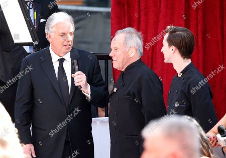 Chef Wolfgang Puck arrives at the Oscars, at the Dolby Theatre in Los Angeles